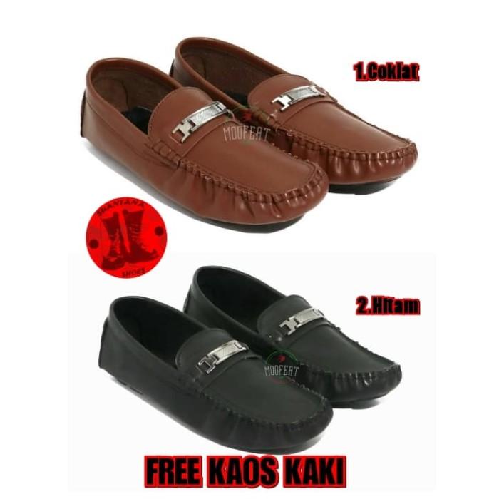 Jual Sepatu Original Moofeat Moccasin Rajut Casual Slip On Semi ... 339db4ff5f