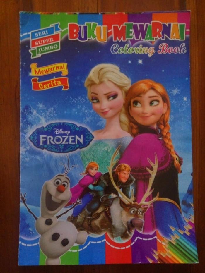 Jual Abc Buku Gambar Mewarnai Frozen Kota Surabaya Abckids