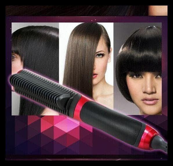 Harga Terbaik Catok Sisir Pelurus Rambut New Fast Hair Straightener 57224c52f1