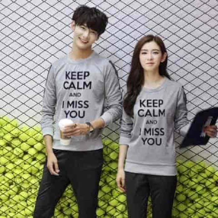 [Cp MISS You Misty LT] baju couple babyterry misty