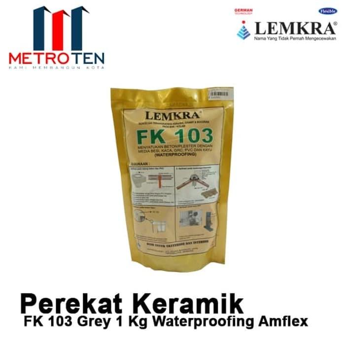 Image LEMKRA Waterproofing Amflex FK 103 Grey 1Kg