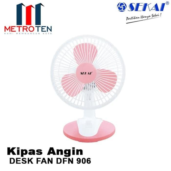 Image SEKAI Desk Fan DFN 906 / Kipas Angin Duduk