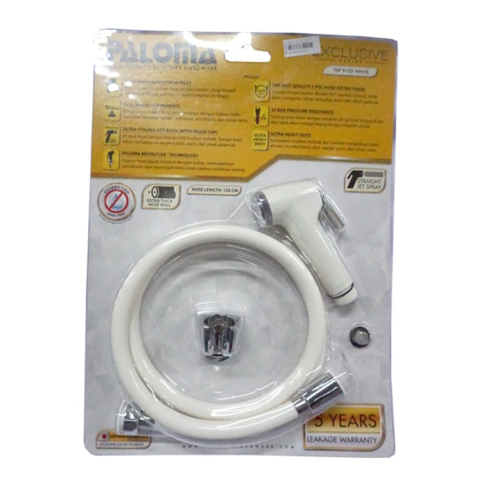 Image PALOMA TSP 9102 Toilet Shower Set Exclusive