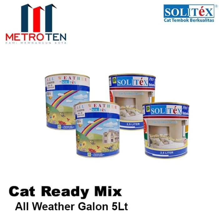 Image Solitex Cat Tembok All Weather Creamy 2.5 Liter