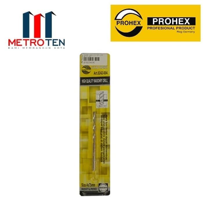 Image PROHEX 0242-004 Mata Bor Beton 4mm