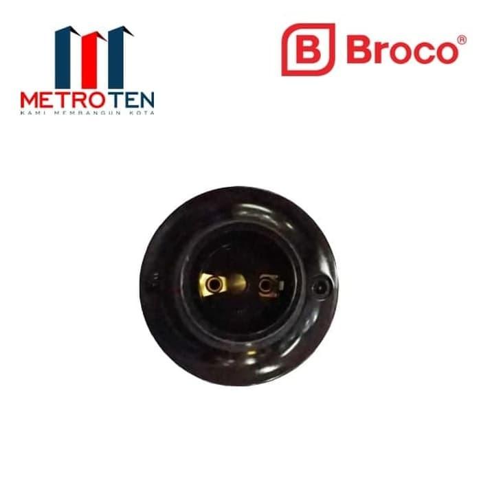 Image Broco Fitting Plafon 210L Black