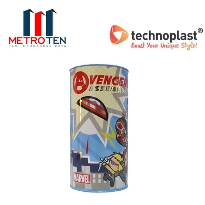Image TechnoPlast Marvel Kawaii Tin Can MTC103 MVKW 116x230 mm