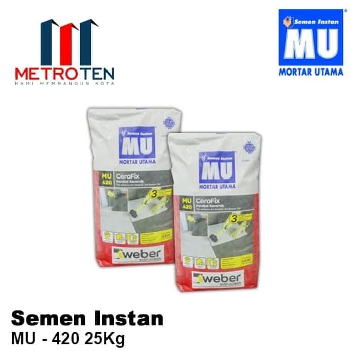 Image MORTAR MU-420 Perekat Keramik Standard 25 Kg