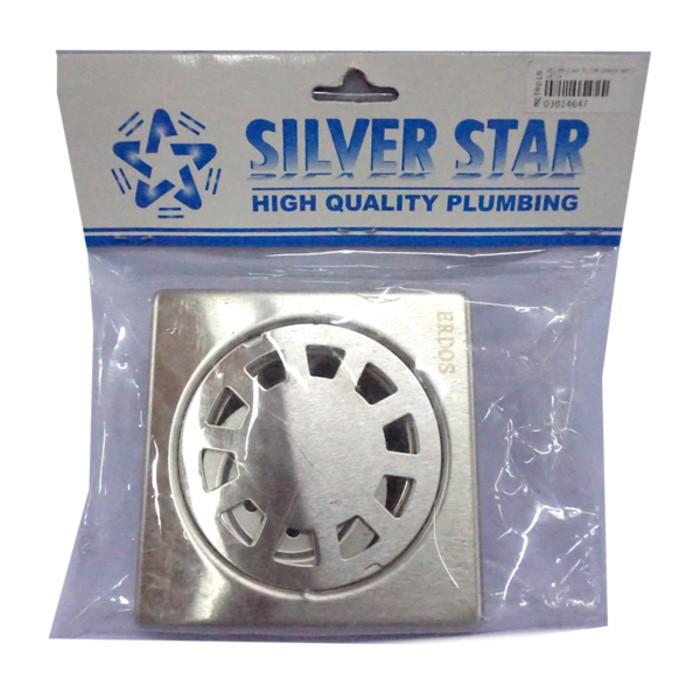 Image Silverstar Floor Drain Anti Kecoa / Saringan Lantai