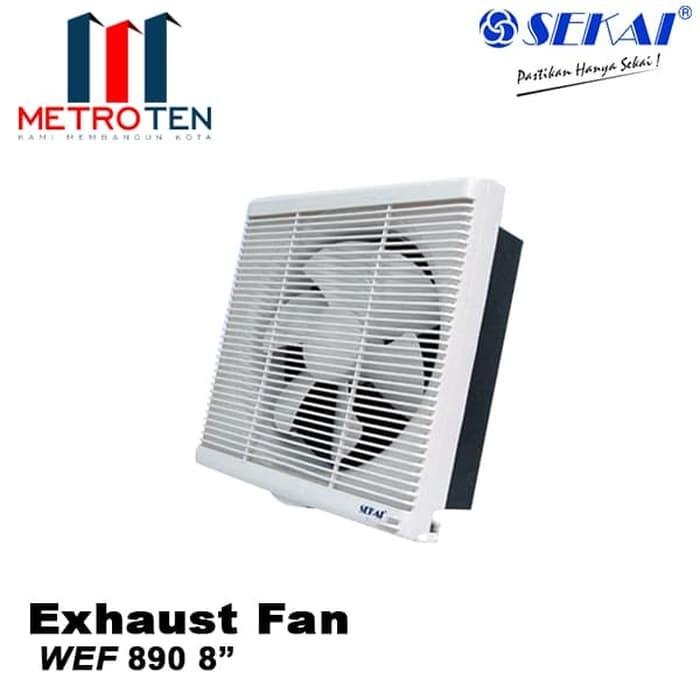 Image SEKAI Exhaust Fan Dinding WEF 890 - Exhaust / Blower