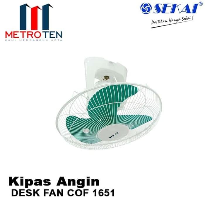 Image SEKAI Desk Fan COF 1651 / Kipas Angin Langit
