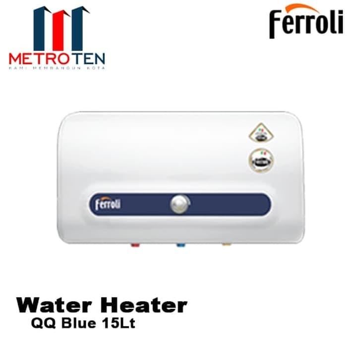 Image FERROLI Water Heater QQ Blue 15L Pemanas Air Listrik