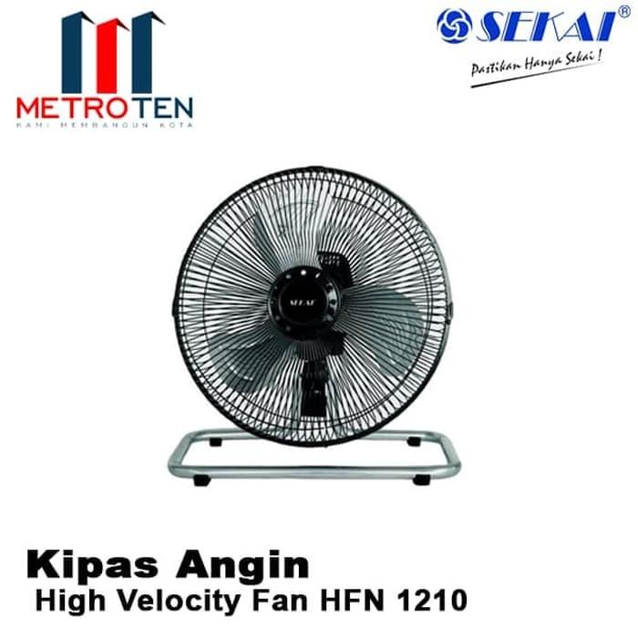 Image SEKAI High Velocity Fan HFN 1210 / Kipas Angin Listrik