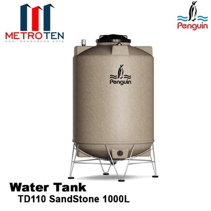 Image Penguin Water Tank TD 110 SandStone 1000L