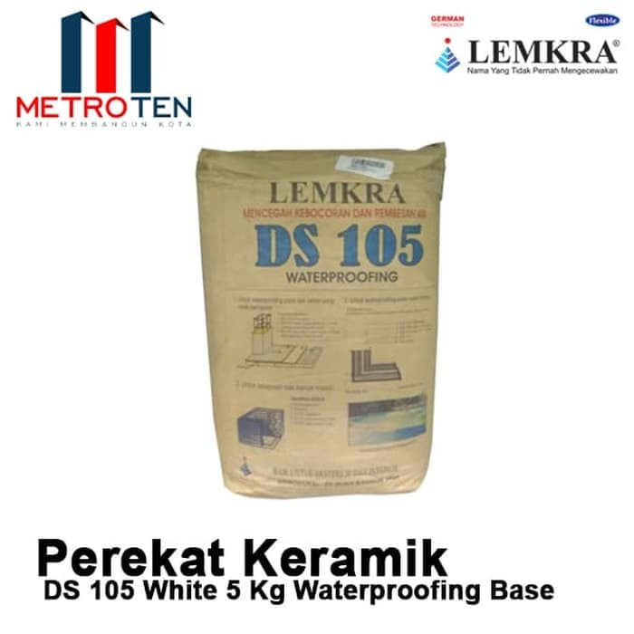 Image LEMKRA DS 105 White 5Kg Waterproofing Base
