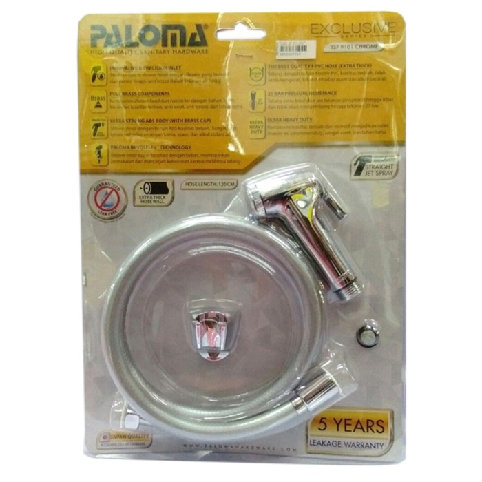 Image PALOMA TSP 9101 Toilet Shower Set Exclusive