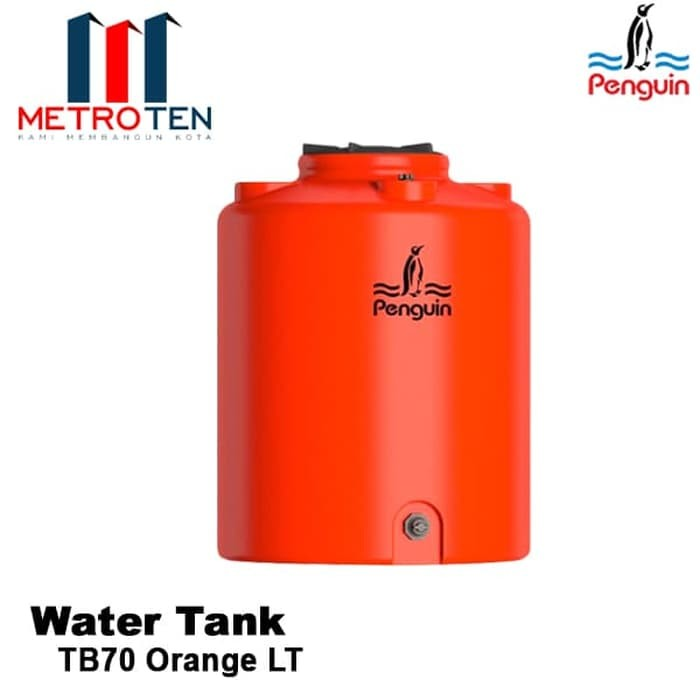 Image Penguin Water Tank TB 70 Orange