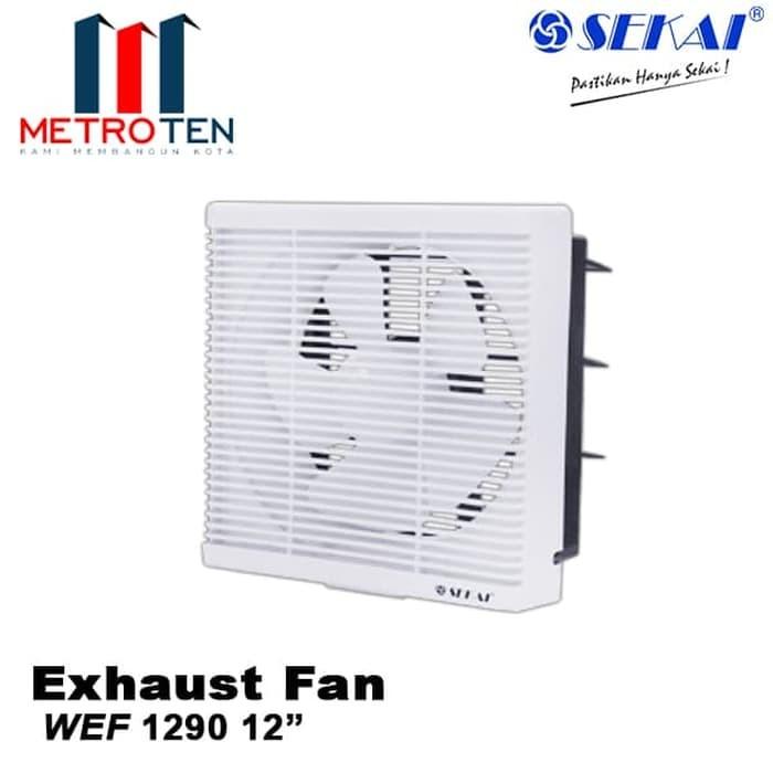 Image SEKAI Exhaust Fan Dinding WEF 1290 Exhaust / Blower