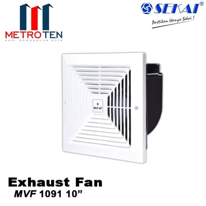 Image Sekai Exhaust Fan MVF 1091 - Exhaust / Blower Plafon