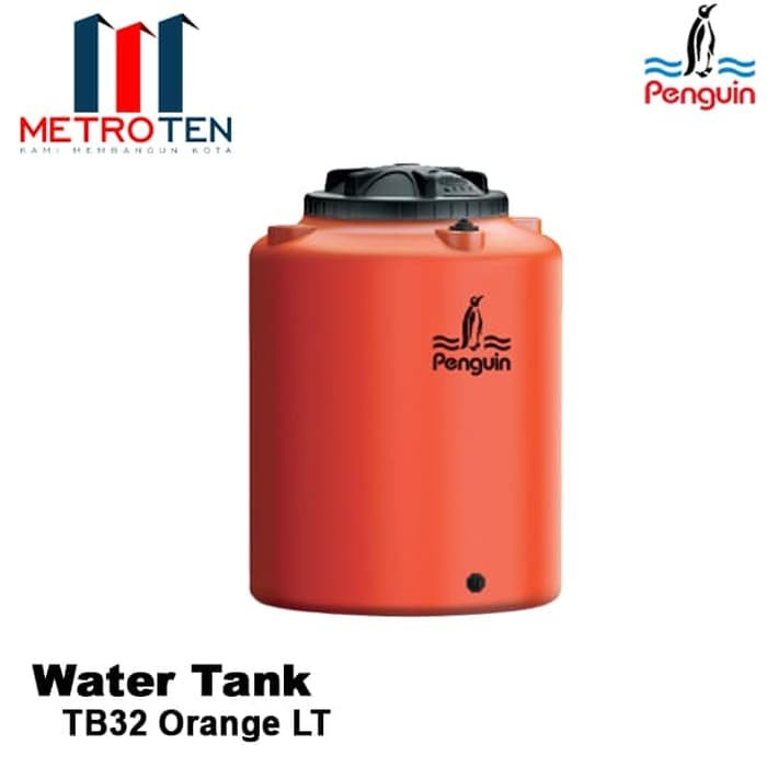 Image Penguin Water Tank TB 32 Orange LT