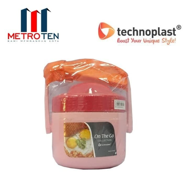 Image TechnoPlast On The Go Food Container Thermo 800 ML FC001 TSNG1