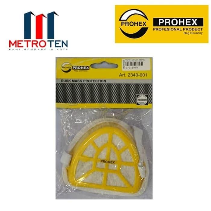 Image PROHEX 2340-001 Masker Hidung PVC