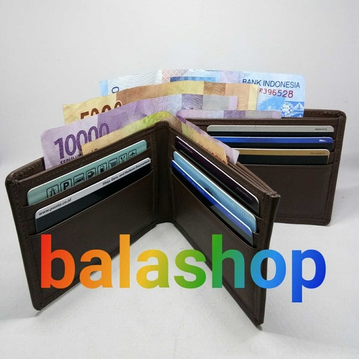 dompet kulit pria model 3 dimensi/dompet pendek pria/garut /kulit asli