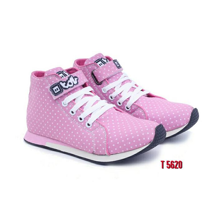 Jual T 5620 Sepatu Sneaker Anak Perempuan TDLR Sepatu Casual Sport ... 307ae7cdf6
