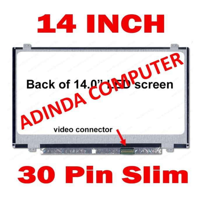 harga Lcd led layar screen acer e5-422 e5-422g e5-432 es1-411 Tokopedia.com