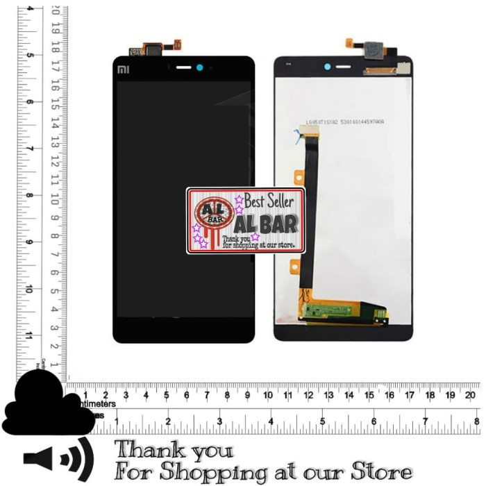 harga Lcd + touchscreen xiaomi redmi mi4i / mi 4i ori 100% Tokopedia.com