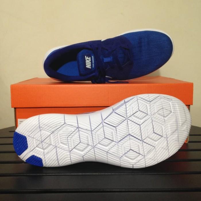 17250977600a8 Jual Sepatu Running Lari Nike Flex Contact 2 Deep Rotal Blue AA7398 ...