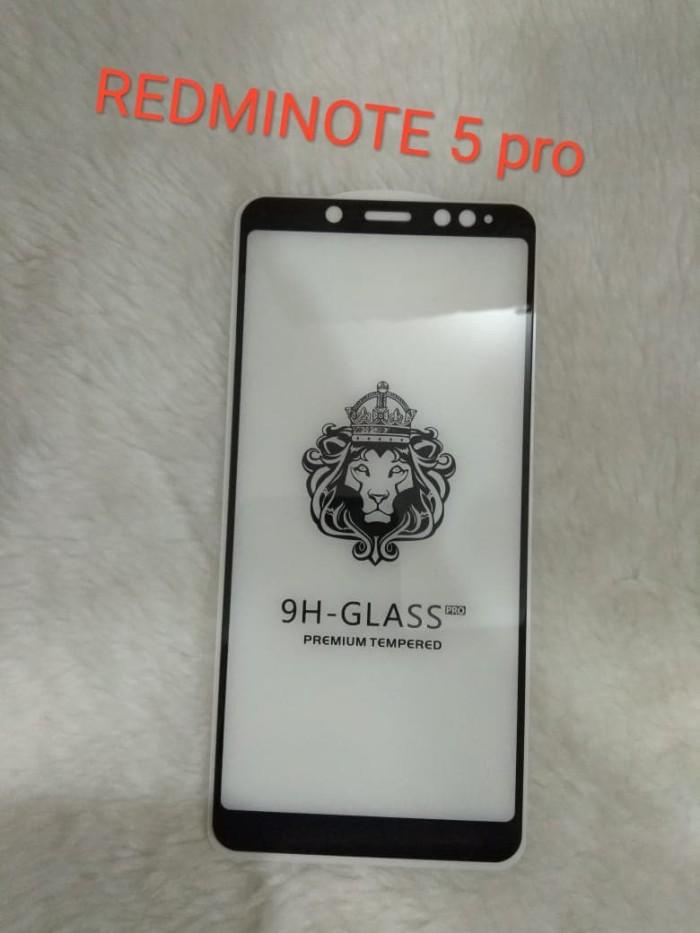 harga Tempered glass full glue 5d for xiaomi redminote 5 pro Tokopedia.com