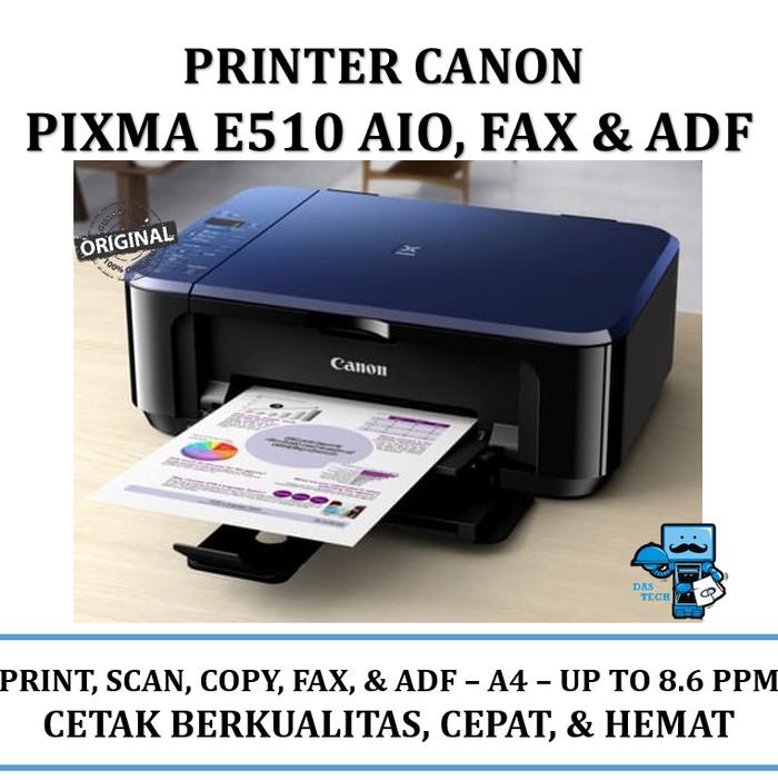 harga Printer canon e510 pixma aio fax & adf low ink cost Tokopedia.com