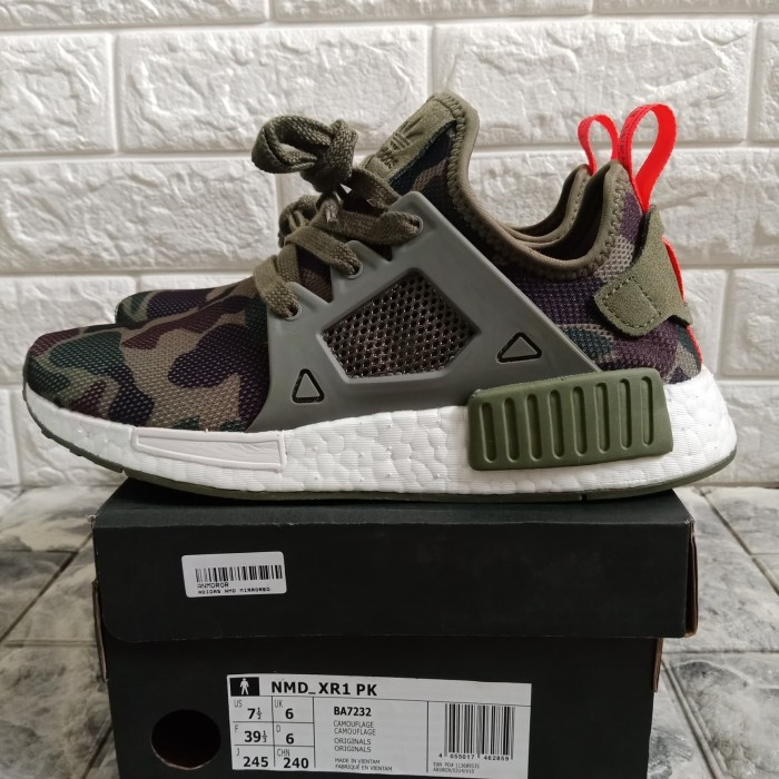 best cheap 1427b c73e6 Promo Murah I6f11 Adidas Nmd Xr1 Duck Camo Green Laris H61d61
