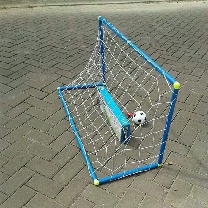 harga Set gawang sepak bola jaring edukasi - paket mainan anak edukatif Tokopedia.com