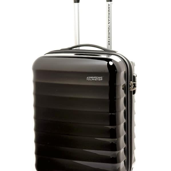 """Tas Koper American Tourister ParaLite Spinner size Medium 24"""" - Hitam"""