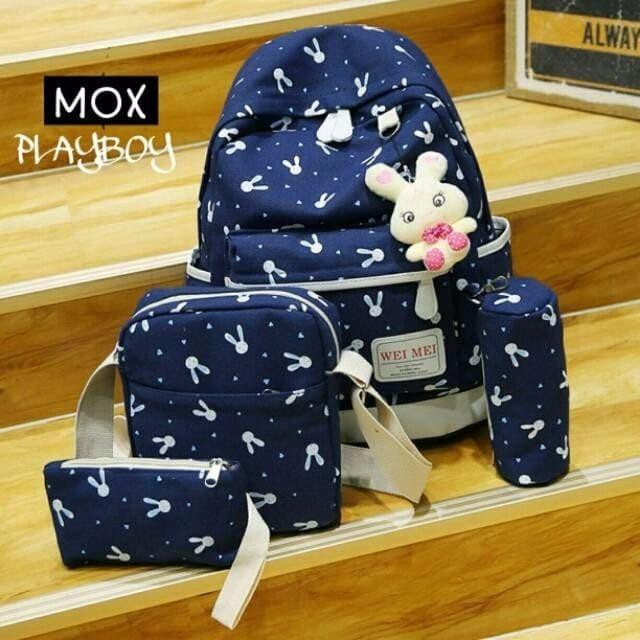 Jual Promo termurah terlaris Backpack playboy tas sekolah tas anak ... c25482b12f