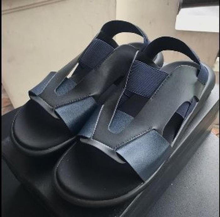 9c7f411e3a24a Jual Adidas Sandal Y3 Qasa Elle Yohji Yamamoto Black Blue Pr Murah