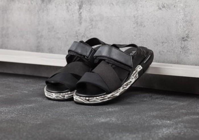 579cc94e61242 Sandal Y3 KAOHE Yohji Yamamoto Black Grey Army High Pre Berkualitas
