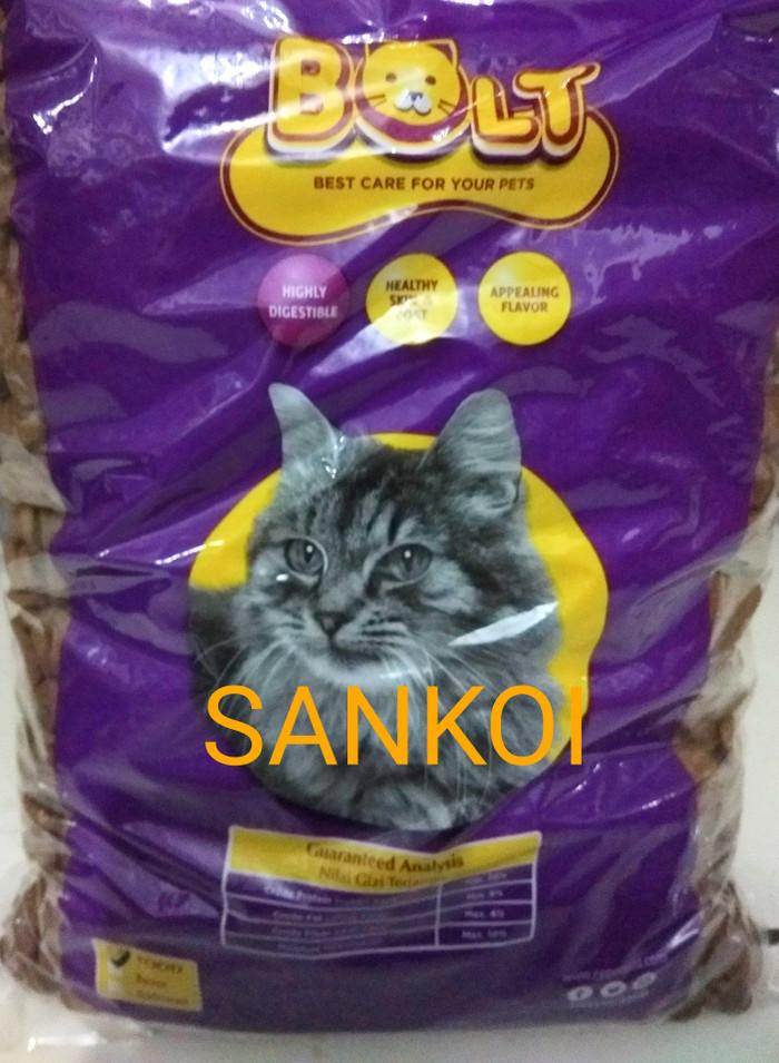 Jual Makanan Kucing Pakan Kucing Bolt Tuna 1 Kg Kota
