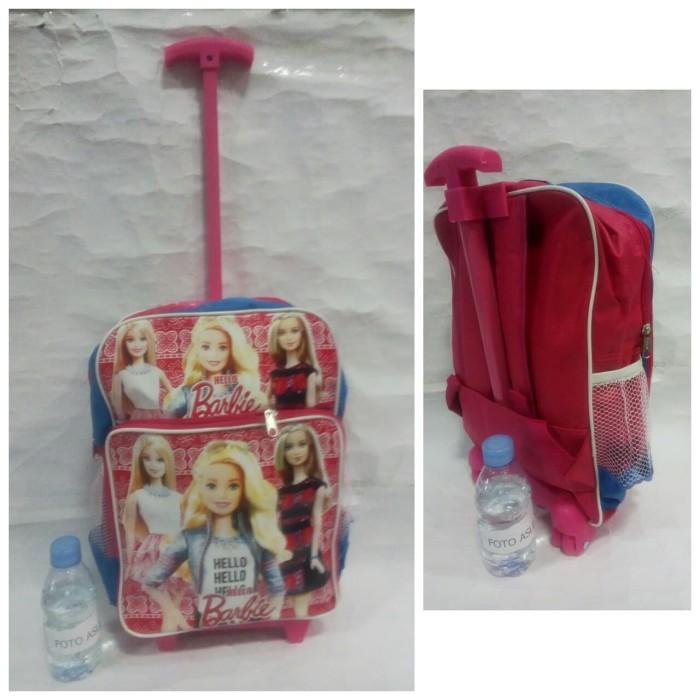 harga Tas anak perempuan si cantik barbie trolley 1 tangkai troli troley Tokopedia.com
