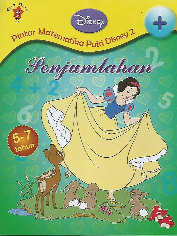 Religi Novel Syair Cerita)PINTAR METEMATIKA PUTRI DISNEY 2 PENJUMLAHAN