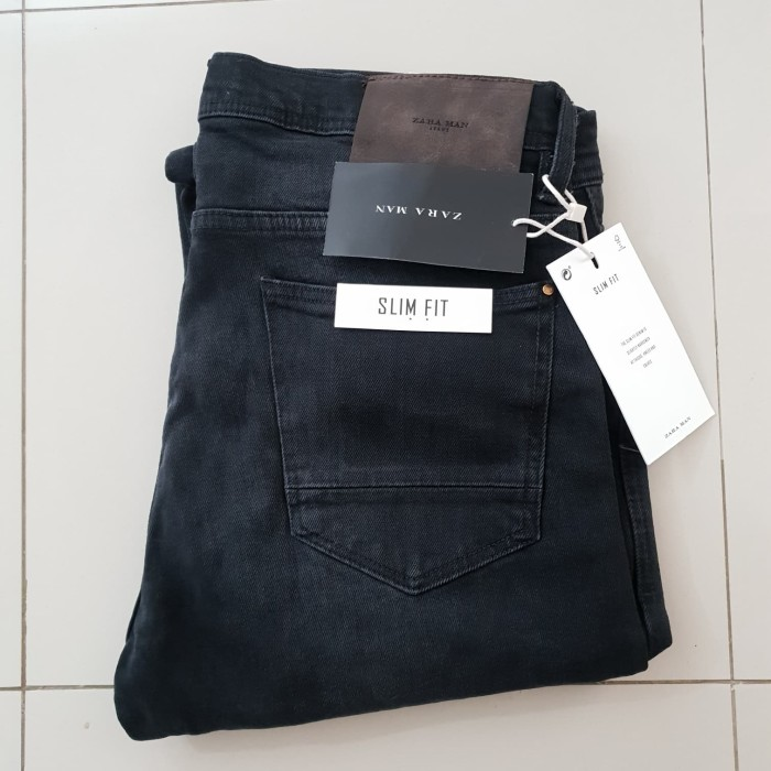 harga Celana jeans slim fit zara man authentic not levis supreme stussy bape Tokopedia.com