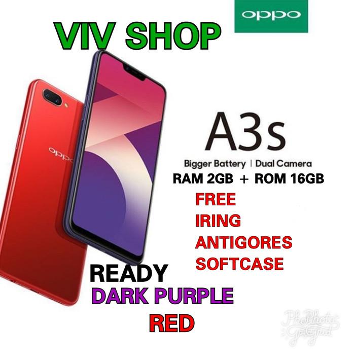 OPPO A3S RAM 2/16GB GARANSI RESMI OPPO 1 TAHUN - Merah