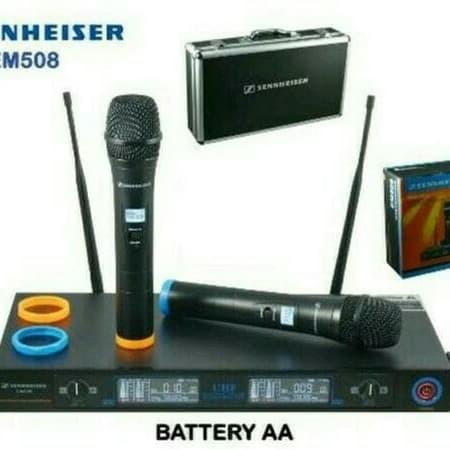 harga Mic wireless sennheiser em508 em 508 utk karaokemcstudiorecording Tokopedia.com