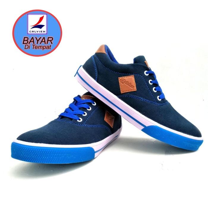 Calvien Sepatu Pria Sneakers Sepatu Pria Kets Sepatu Pria Kasual  Sepa ba2f3cd5ac