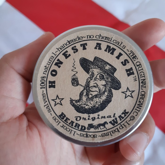Honest Amish Beard Balm Original