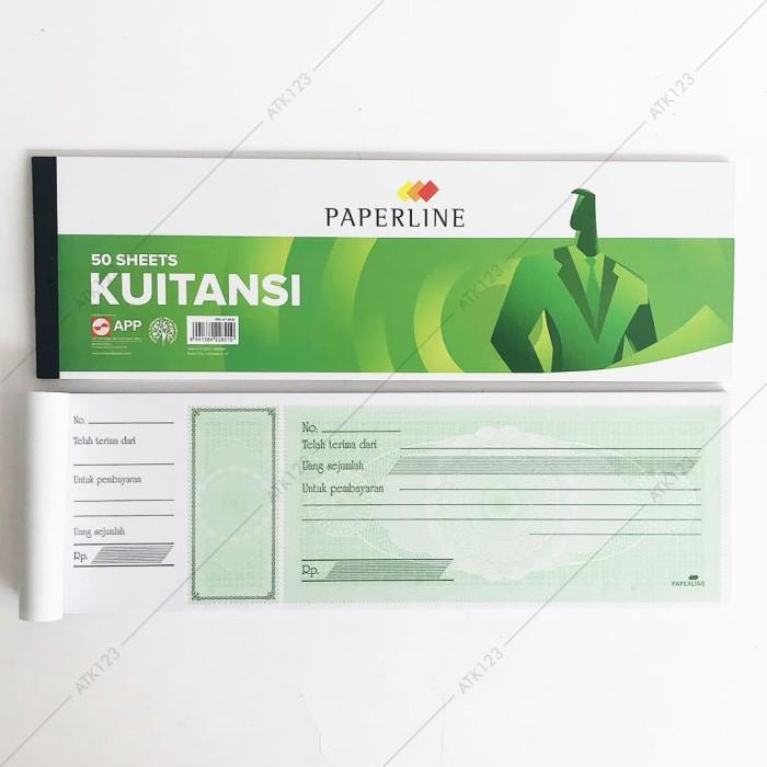 Jual Kwitansi Kuitansi Paperline Besar Kt 50 B Isi 50 Lembar Kota Bandung Atk 123 Tokopedia