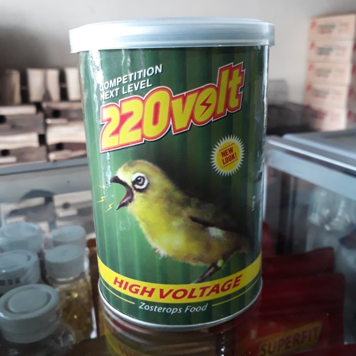 220 Volt Makanan Burung Pleci