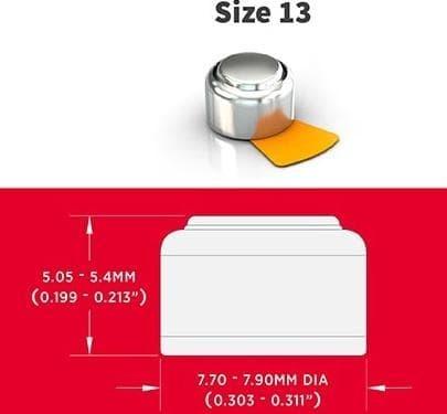 Powerone P13 - Baterai 13 Untuk Alat Bantu Dengar Beurer Ha20 \U002F